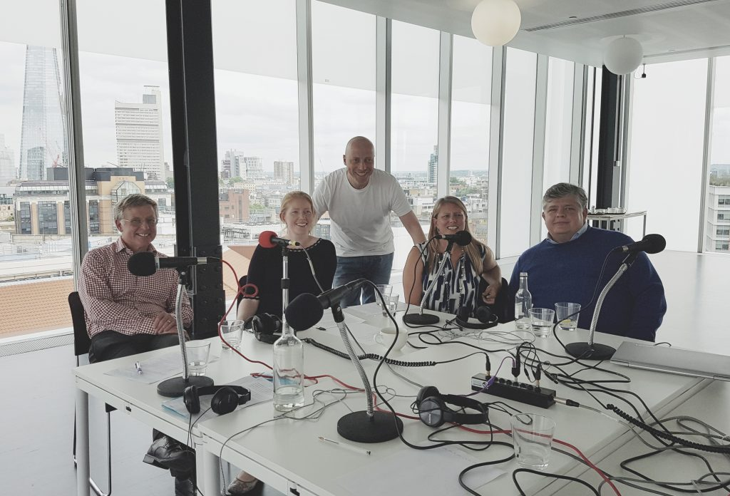 Photo of Charles Wookey, Jo Alexander, Russell Goldsmith, Ruth Dobson, Norman Pickavance