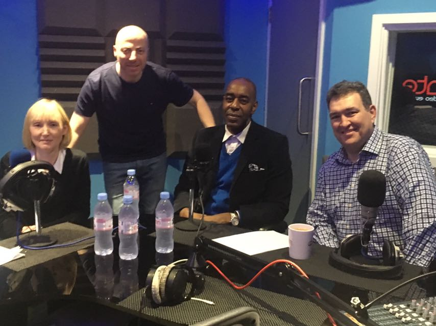 Show guests - Dr Louise Ashley, Russell Goldsmith, Tunde Banjoko OBE and Matthew Coats CB