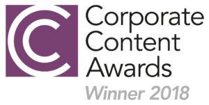 Corporate Content Awards Winner