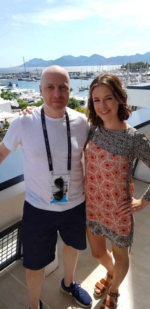 Chatting with Carla Buzasi at Cannes Lions