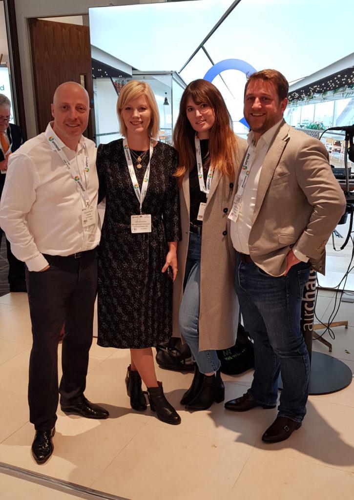 Petra Velzeboer, Kaye Preston and Kristoff DuBose