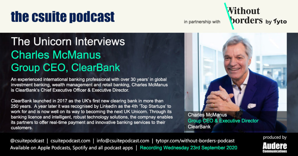 Charles McManus, Group CEO, ClearBank