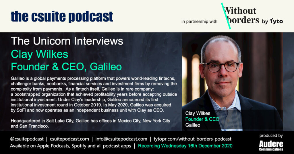 Clay Wilkes, Founder & CEO, Galileo