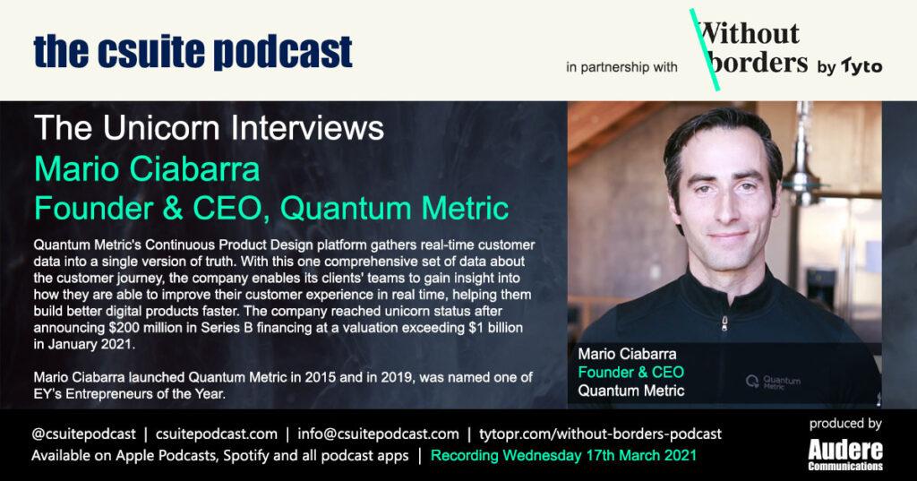 Mario Ciabarra - Quantum Metric
